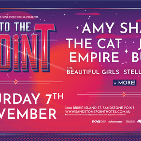 TO THE POINT FESTIVAL ANNOUNCE THEIR LINE UP INCLUDING AMY SHARK. JOHN BUTLER AND THE CAT EMPIRE