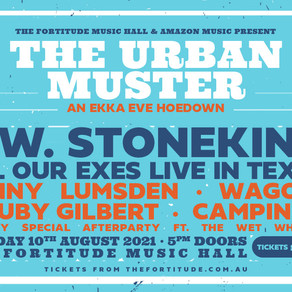 URBAN MUSTER SET TO TAKE OVER THE FORTITUDE MUSIC HALL