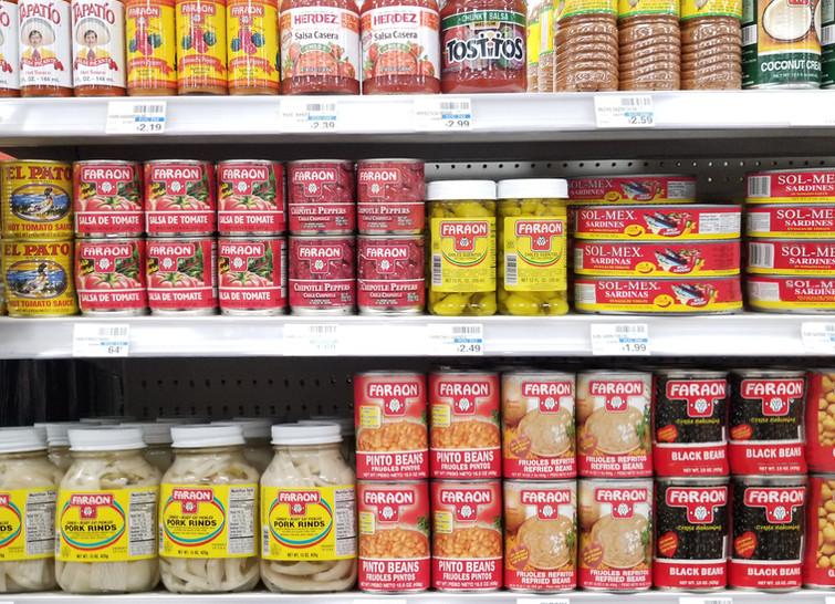 Faraon Product shelf