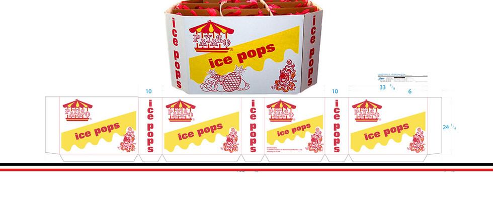 Payaso Ice Pop Bin