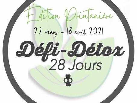Défi-Détox ~ Édition Printanière 2021