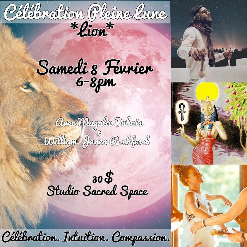 Célébration Pleine Lune - Lion