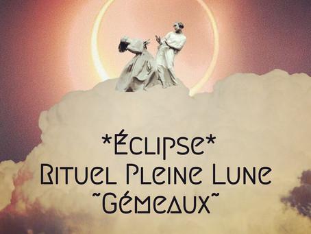 Rituel Pleine Lune ~ Gémeaux 😊🙌🌕♊️✨
