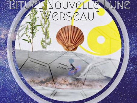 Rituel Nouvelle Lune ~Verseau 🙌🌑♒️✨