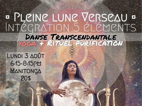 Pleine Lune Verseau