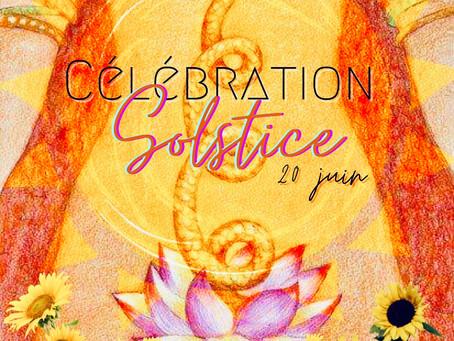 Célébration Solstice ~ 20 Juin