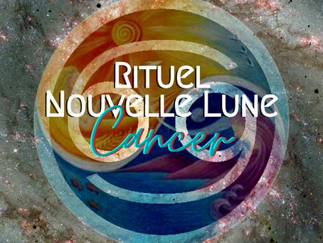 Rituel Nouvelle Lune ~ Cancer 🌑♋️✨
