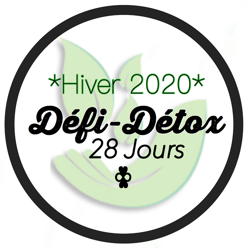 Défi-Détox 28 Jours - Édition Hivernale 2020