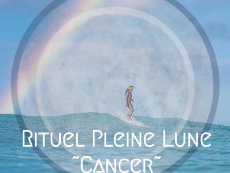 Rituel Pleine Lune Cancer ~ Nouvel an 2021