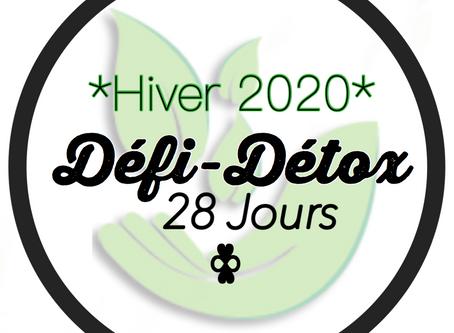 Défi-Détox | Édition Hivernale 2020