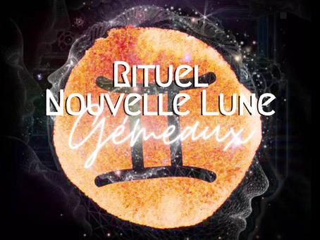Rituel Nouvelle Lune Gémeaux / Éclipse 🌑♊️