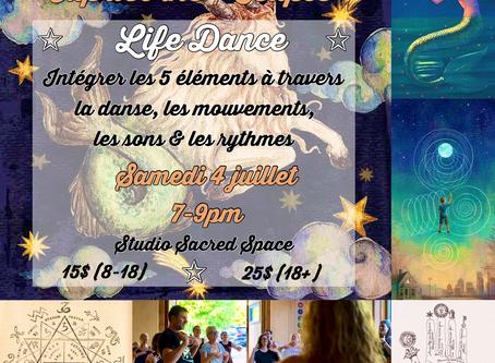 """Célébration Pleine Lune Capricorne """"Life Dance"""""""