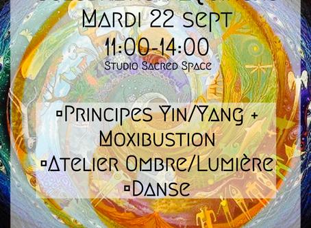 Célébration de l'Équinoxe ~ Harmonisation Féminin & Masculin Sacrés