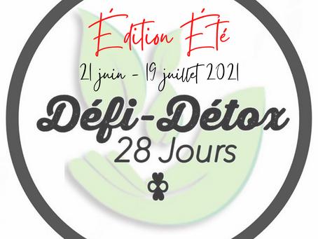 Défi-Détox ~ Édition Été 2021