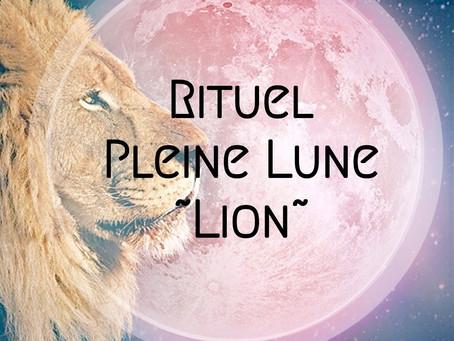 Pleine Lune ~ Lion 🌕♌️