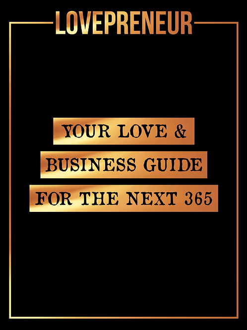 LOVEPRENEUR 365 GUIDE - AFTER a Pandemic