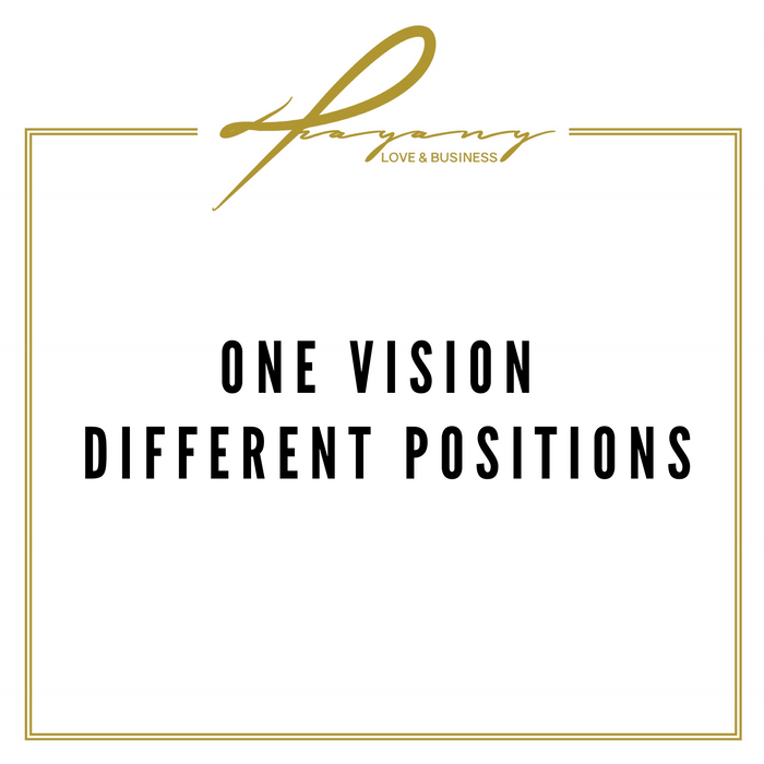 One Vision different positions