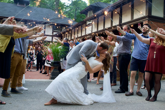 Fairy Tale dip kiss at Gramercy Mansion