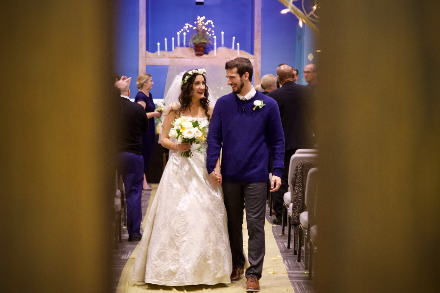 Kansas city wedding recessional