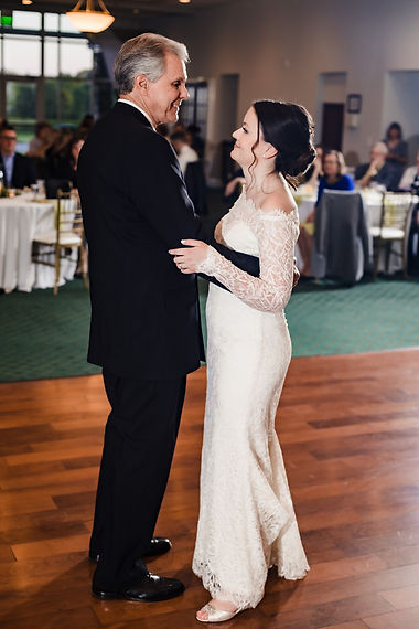 Father-daughter dance at Piney Branch Golf Club in Upperco, Maryland