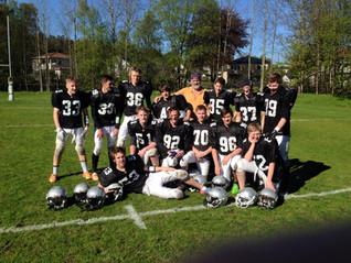 Raiders U17 seier, Senior tap.