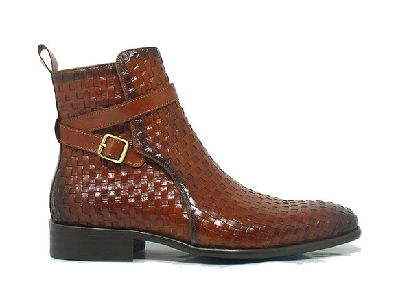 copy of KB886-17 Strap Buckle Leather Boots