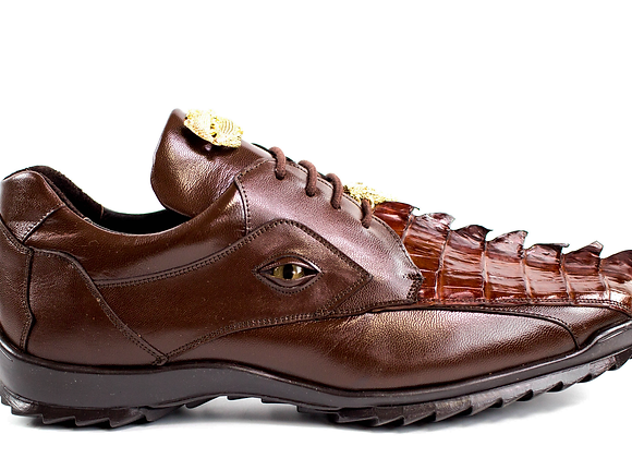 Vasco, Caiman and Calf Leather Sneakers, Style: 336122
