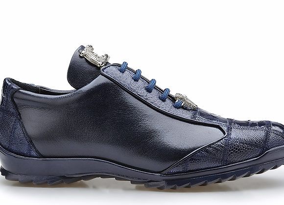 Paulo, Genuine Ostrich and Soft Calf Sneakers, Style: 40486