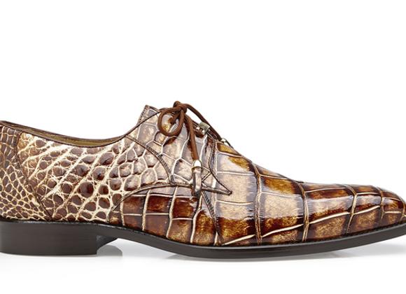 Alfred, Genuine American Alligator Derby Dress Shoes, Style: R08