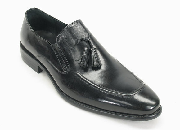 KS099-714 Leather Tassel Loafer-Patent Leather