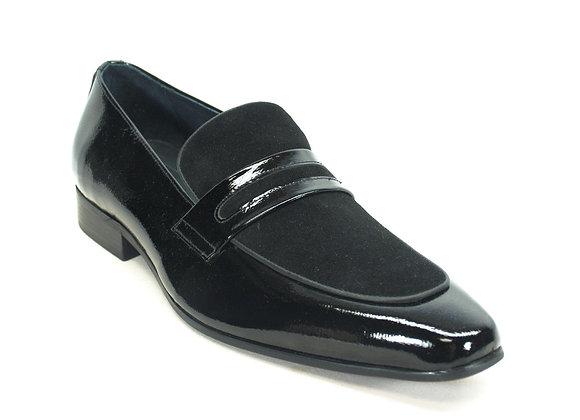 KS1377-12SC Patent Leather Loafer