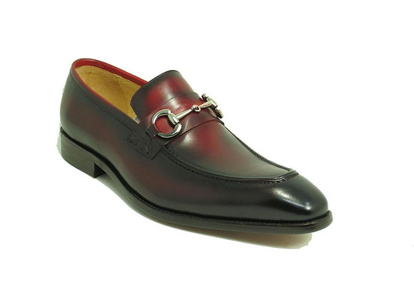 KS478-505 Leather Buckle Loafer