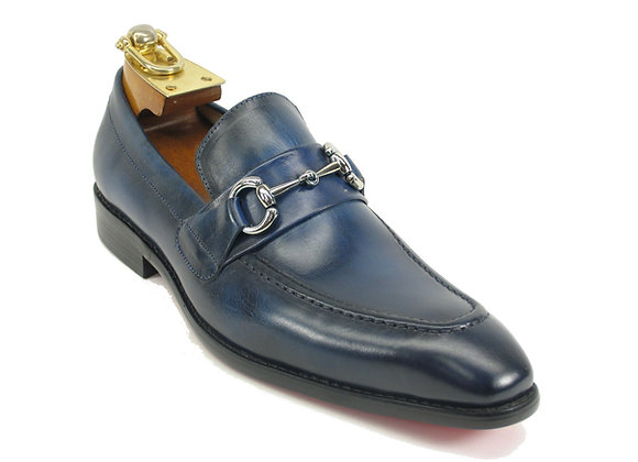 KS503-02 Carrucci Signature Buckle Loafer
