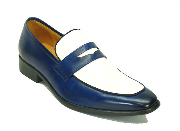 KS2240-12T Carrucci Two Tone Penny Loafers