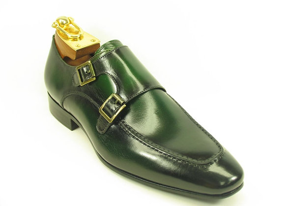 KS502-11 Double Monk Straps Loafer-Gray