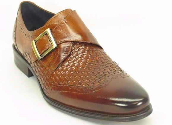 KS099-722 Woven Buckle Loafer