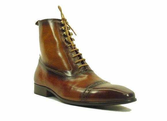 KB524-13 Lace-up Zip Boots