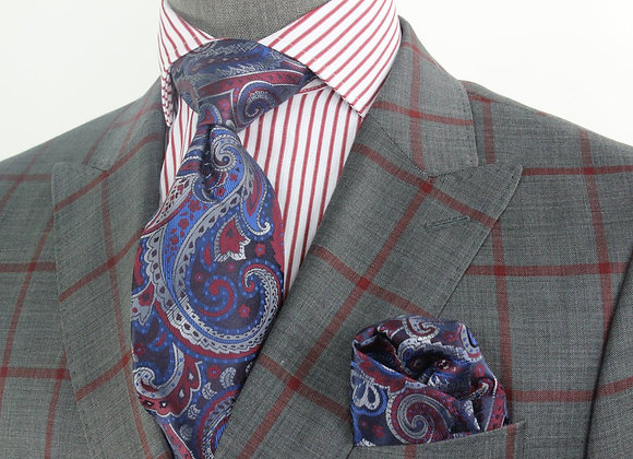 Leviticus - 3 Tie & Pocket Square