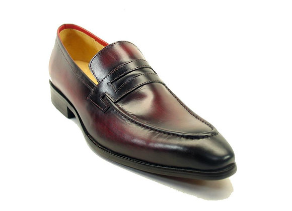 KS478-503 Carrucci Leather Penny Loafer