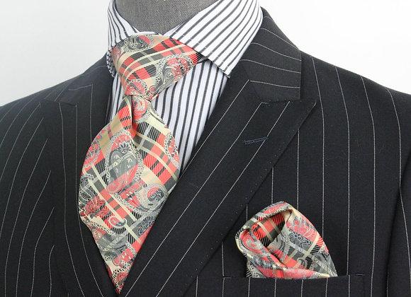 Kings - 8 Tie & Pocket Square