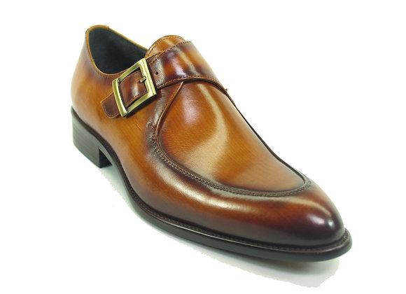 KS479-06, Carrucci Moc Toe Buckle Loafer