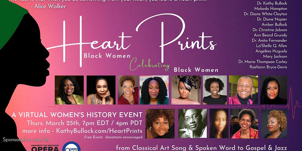 Heart Prints - A Virtual Celebration of Black Women
