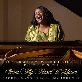 "Kathy Bullock's Album ""From My Heart to Yours"" cover"