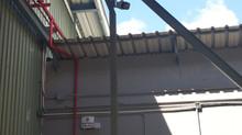 粉嶺2萬呎物流倉閉路電視及防盜系統工程
