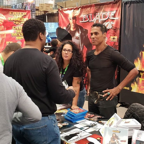 Cooley: Who's the master? Taimak: WE are... Cooley: *brain explodes*