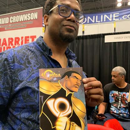 The publisher & his print... #MrOmega