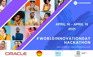 The UN #WorldInnovationDay Hackathon