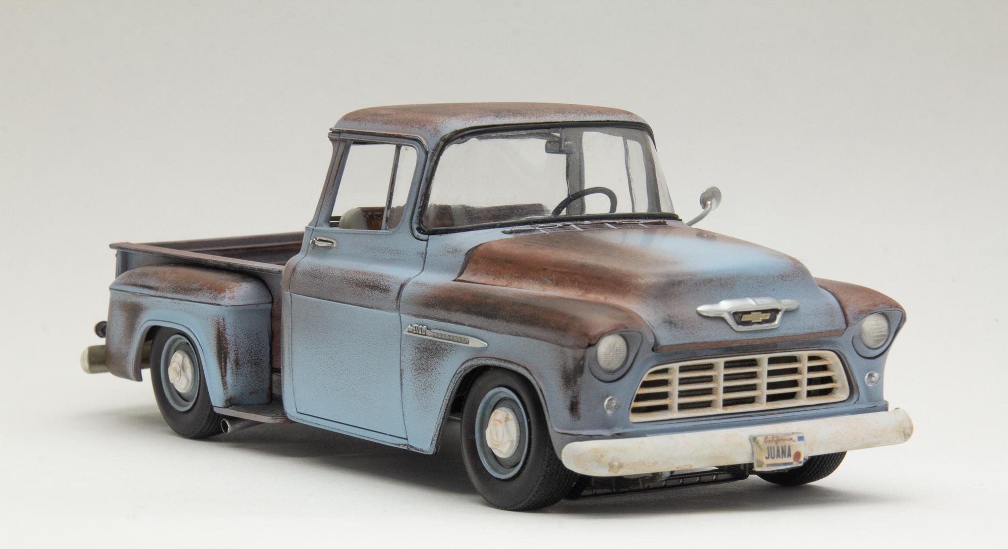 55 Chev Pickup Juana 6