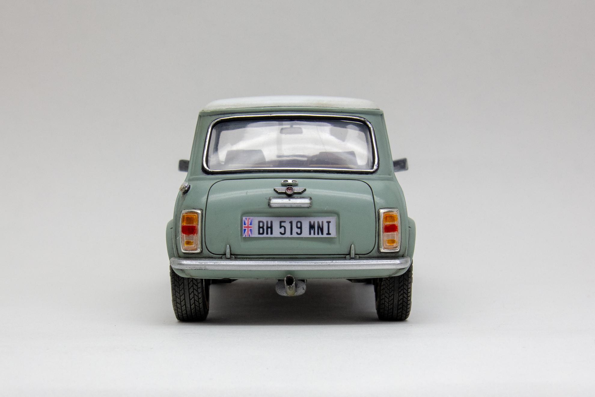Old Mini Cooper  #8837