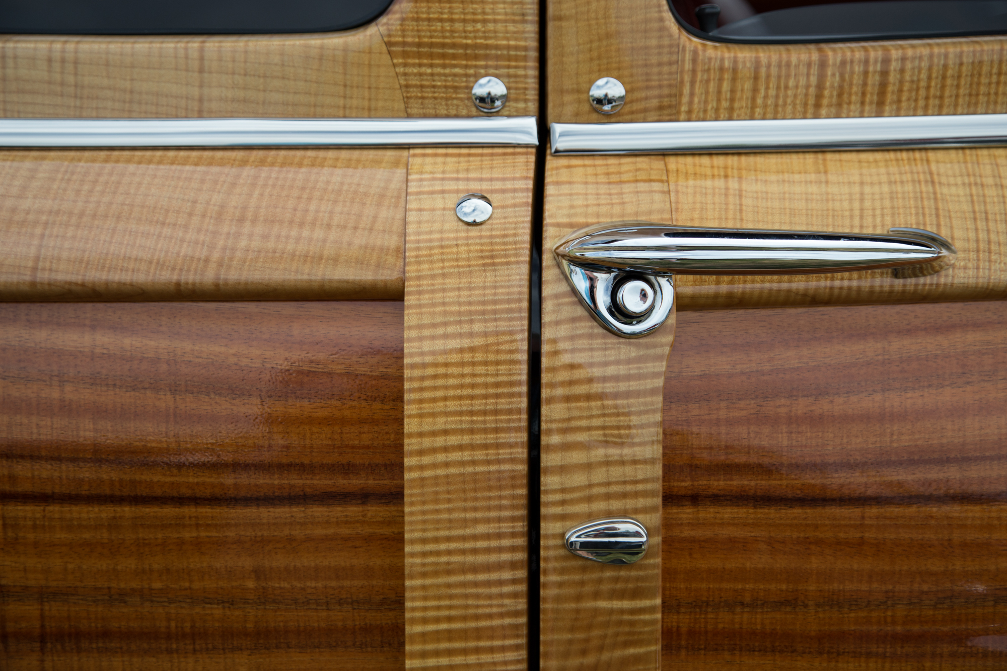 Woody Wagon detail